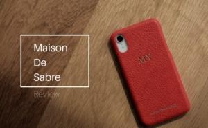 溢れ出る高級感、牛革iPhoneケース「Maison de Sabre」
