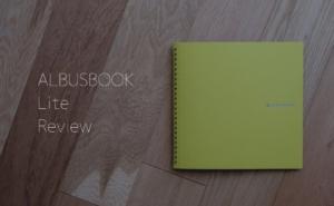 ALBUSBOOK Liteが届いたよ!買って分かったALBUSBOOKとの細かい比較について。