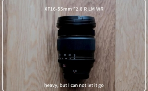 【レビュー】重くても手放せない。XF16-55mm F2.8 R LM WRの1年使用してみた感想と作例