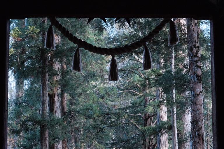 クラシッククロームのクラシックネガ風カスタムを使って晩秋の戸隠へ。